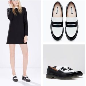 Zara Trafaluc Two tone Combination Mocassin 38